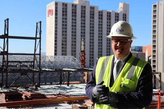 Derek Stevens is Detroit native who first tossed the dice as a Las Vegas investor in 2006, when he bought a stake with his brother in the Golden Gate on Fremont Street. Today, Stevens owns the D Las Vegas, the Downtown Las Vegas Events Center and the Circa Sportsbook. He's now building the Circa Resort & Casino.