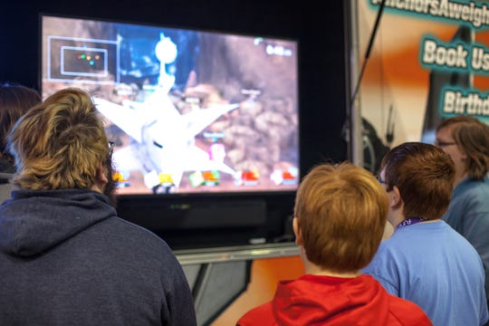 Video games and anime screenings are a big part of Ocean City Comic Con.