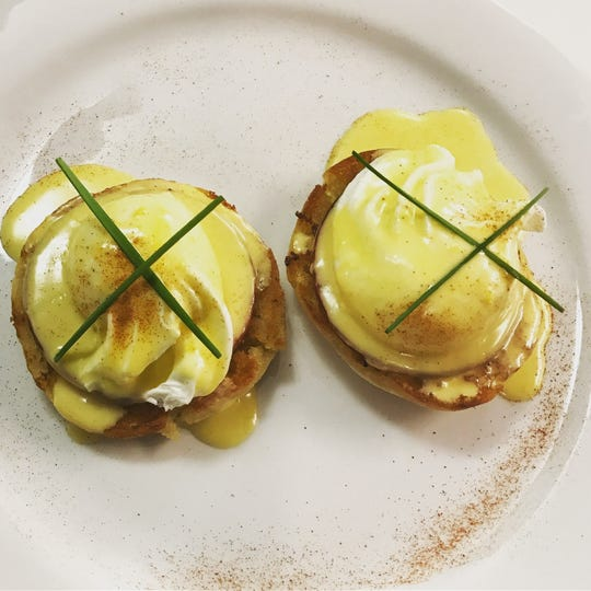 Eggs Benedict: Sunday brunch is from 9 a.m. to 2 p.m.