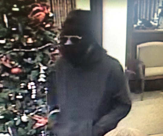 Shreveport police seek the ID of a bank robbery suspect. The incident occured on Dec. 6, 2019, at a bank in the 9000 block of Ellerbe Road.
