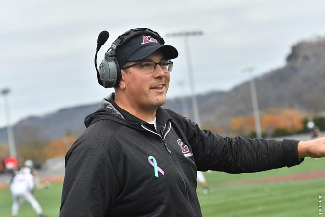 Mike Schmidt went 27-13 in four years at Division III Wisconsin-La Crosse