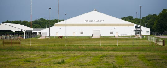 Pinegar Arena at the William H. Darr Agricultural Center.