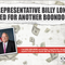 The front of an Americans for Prosperity direct mail advertisement targeting Billy Long, R-Missouri, for his support of the federal Export-Import Bank.