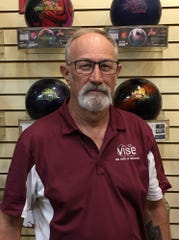 Tim McNees is photographed after rolling a 675 series in Mesquite last week.