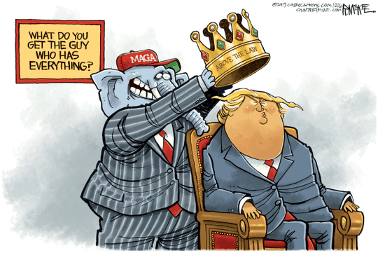 Cartoon: Trump crowned
