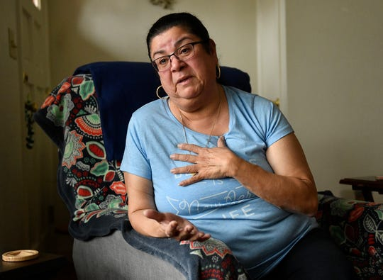 Elizabeth Arce of Vineland lost everything following a fire that ripped through her South Main Road homestead back in July but is slowly putting her life back together with the help of family, friends and her community.