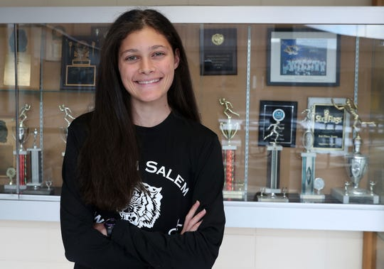 North Salem's Ava Jolley is the Westchester/Putnam girls cross-country co-runner of the year Dec. 5, 2019.