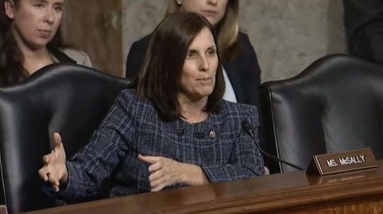 U.S. Sen. Martha McSally (R-AZ) compared private companies operating military housing companies to slumlords at a Dec. 3 U.S. Committee on Armed Services hearing.