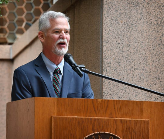Wichita County Commissioner Mark Beauchamp announced Monday that he will run for re-election.