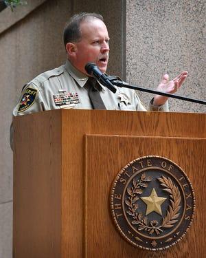 Wichita County Sheriff David Duke, shown in this Dec. 9, 2019, file photo, has announced the temporary closure of the Wichita County Sheriff's Office in the basement of the Wichita County Courthouse.