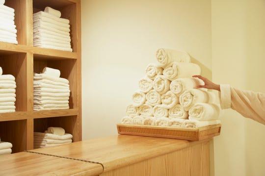 """Las toallas son los artículos más comúnmente robados de las habitaciones en hoteles de lujo, según un estudio realizado por el sitio alemán Wellness Heaven. = """"540"""" data-mycapture-src = """""""" data-mycapture-sm-src = """""""" /> <meta itemprop="""