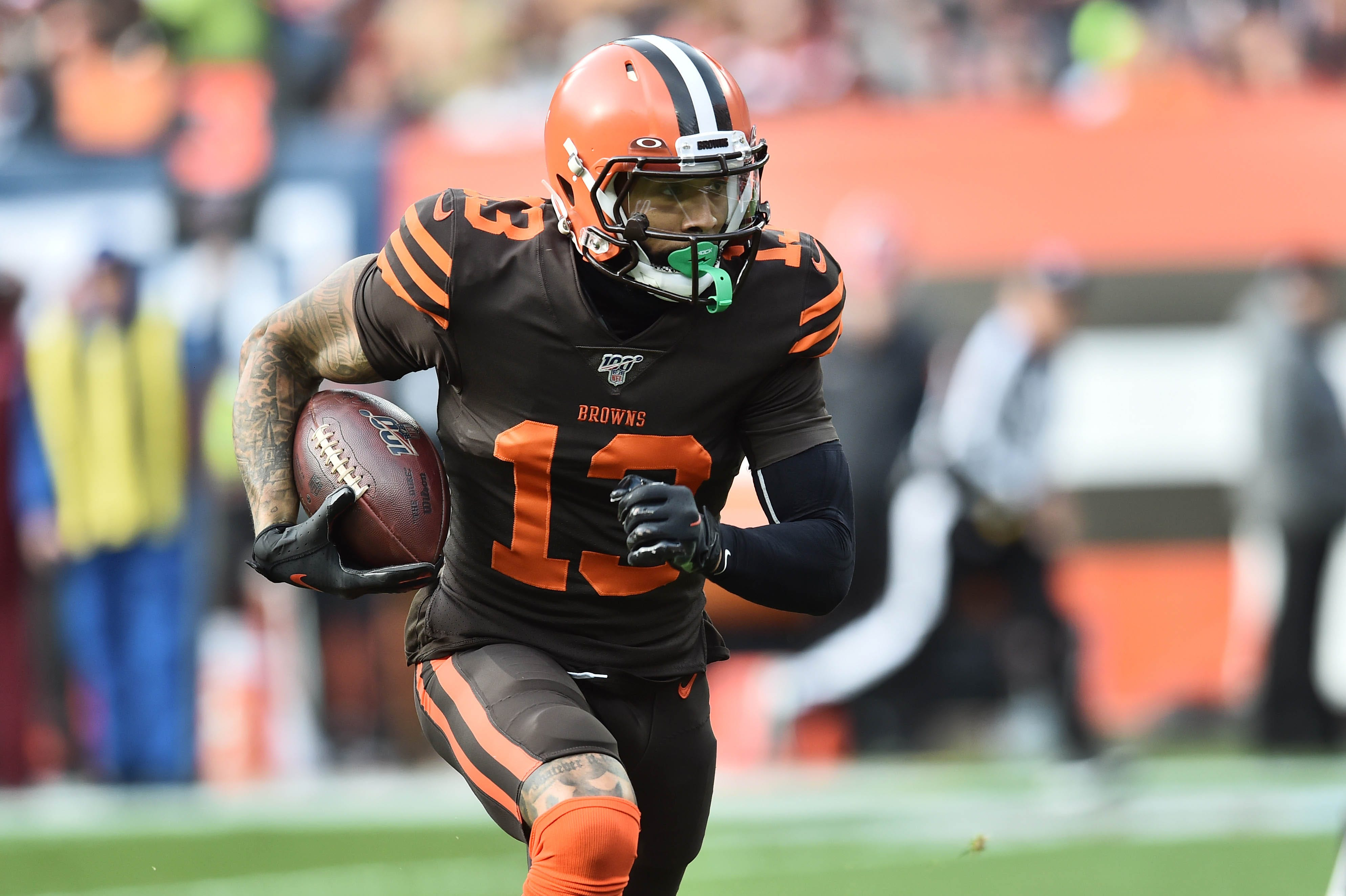 Opinion: Talent-starved for two decades, Browns must try to make it work with Odell Beckham Jr.