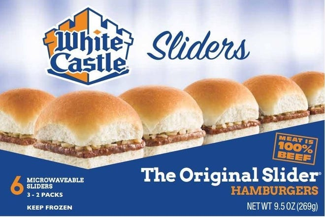 White Castle announced it is recalling several frozen products.