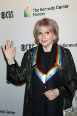 Linda Ronstadt received the 2019 Kennedy Center Honor for lifetime artistic achievement in Washington, D.C.