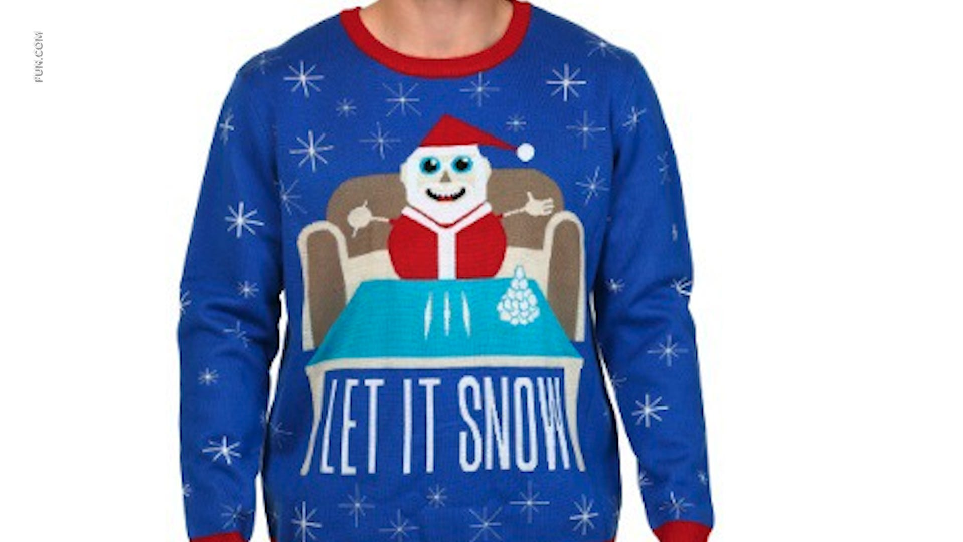 Walmart apologizes for Christmas \u0027cocaine\u0027 sweater