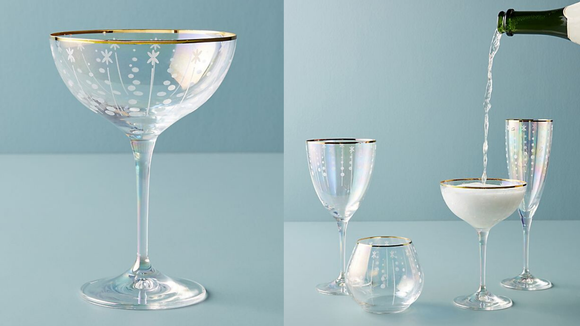 Best kitchen gifts 2019: Trudie Coupe Glasses