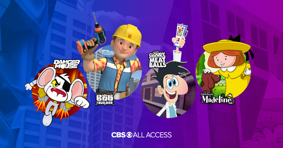 CBS All Access just announced a new lineup focusing on kids' content