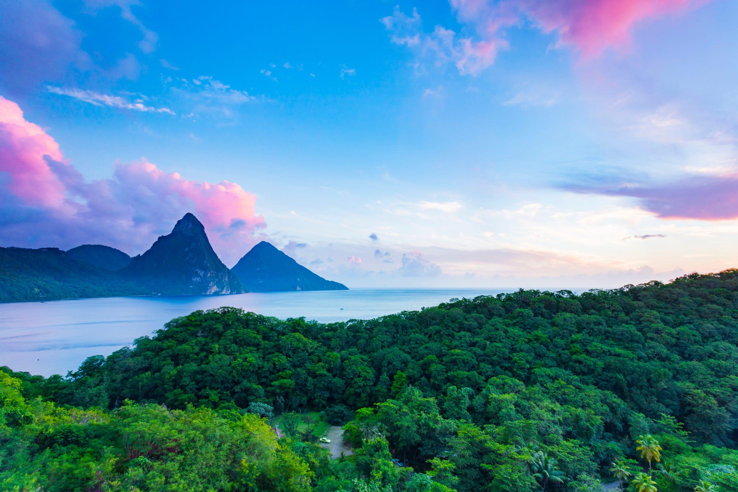 Best Honeymoon Destinations 2020.Best Honeymoon Spots Per U S News From St Lucia To