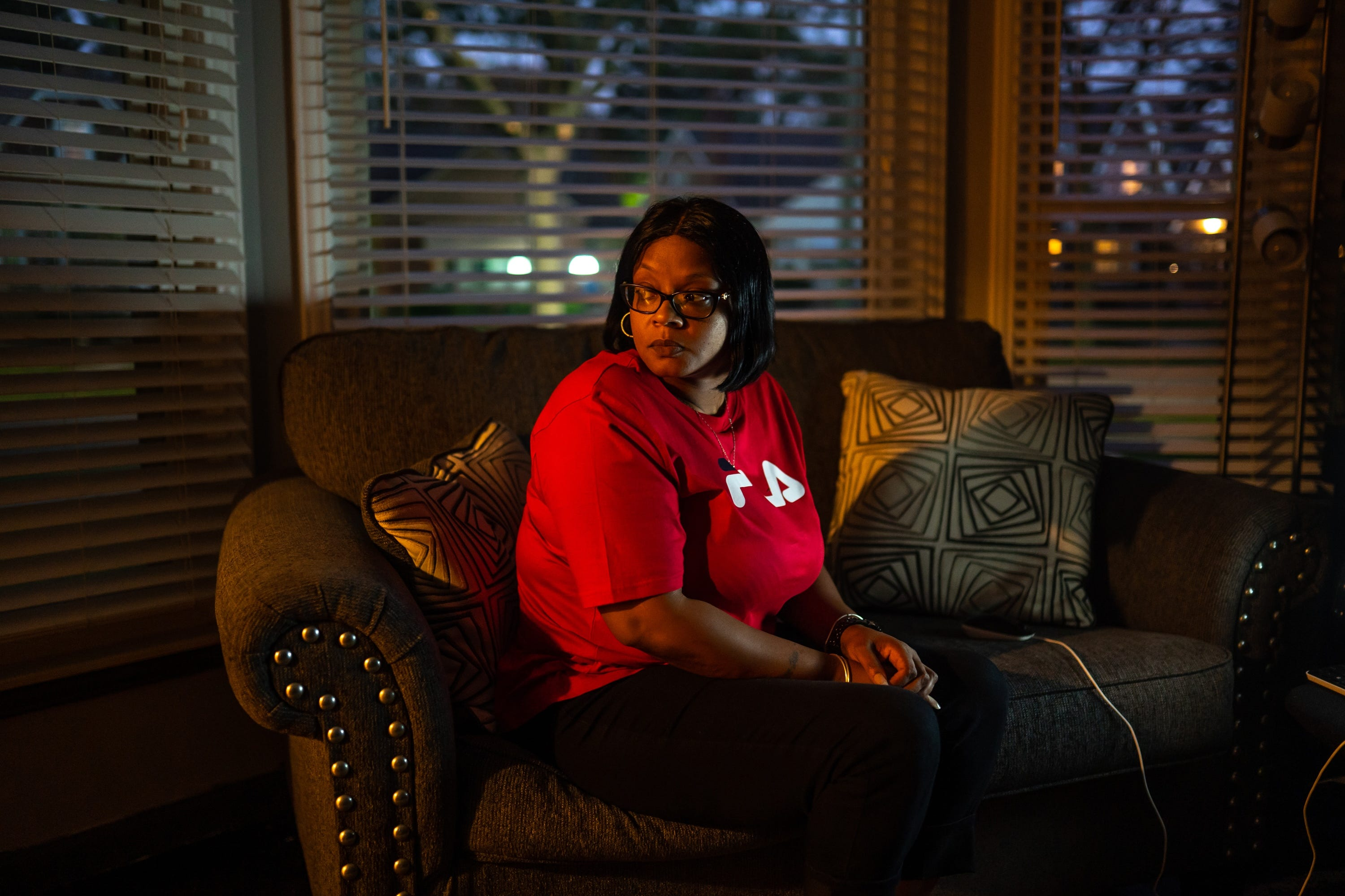 """Detroit resident Nyosha Fowler said her recovery from a botched plastic surgery procedure in 2015 is """"still every day."""" She had to relearn how to eat, how to stand, how to walk."""