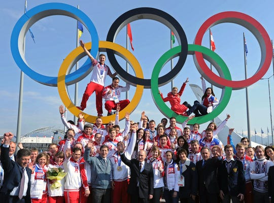 Opinion: In latest farce, International Olympic officials again favoring Russia over clean athletes