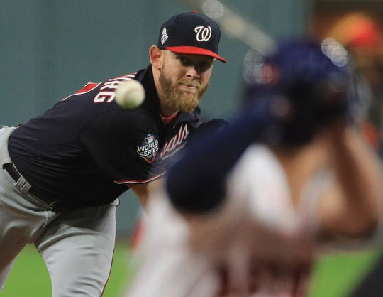 Stephen Strasburg has agreed to stay with the Washington Nationals after agreeing to a seven-year, $245 million contract.