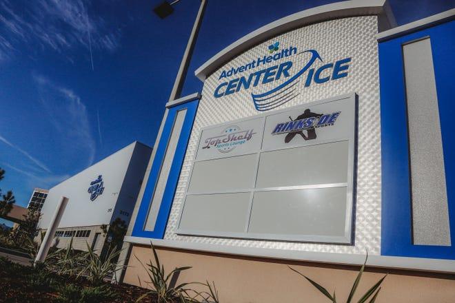 The AdventHealth Center Ice in Wesley Chapel, Florida, where John Zimmerman, Silvia Fontana and Vinny Dispenza coach figure skating.