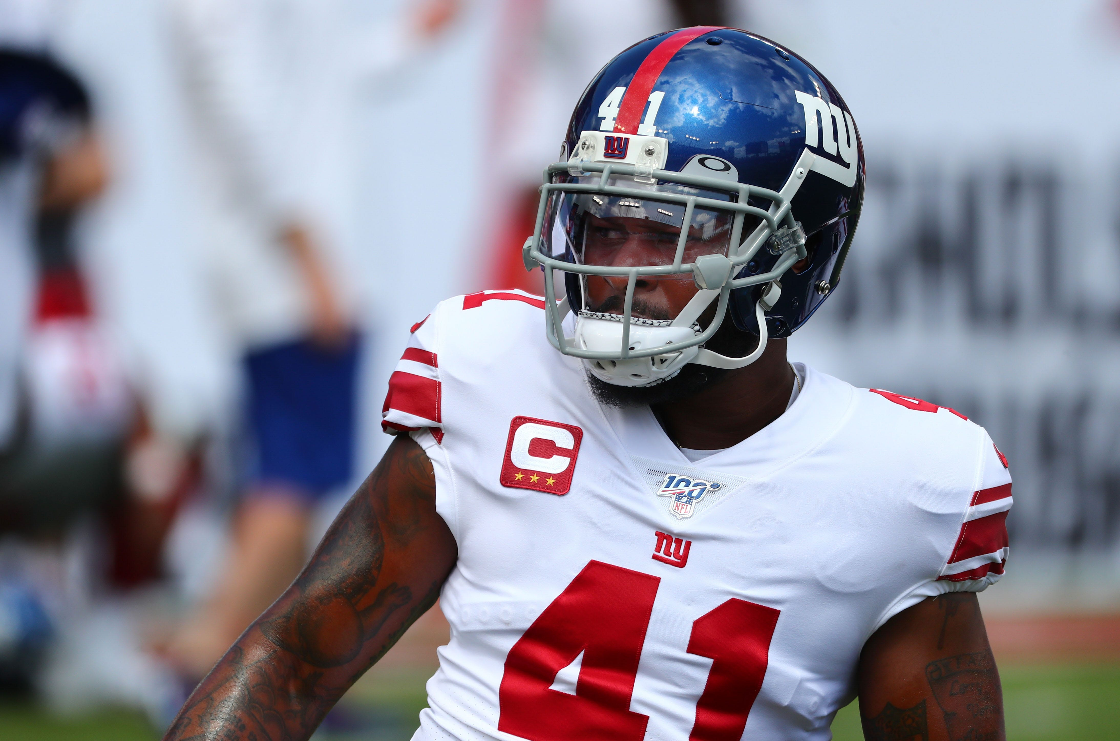 'That's when the true character comes out': How 35-year-old DB Antoine Bethea forges on in Giants' trying season