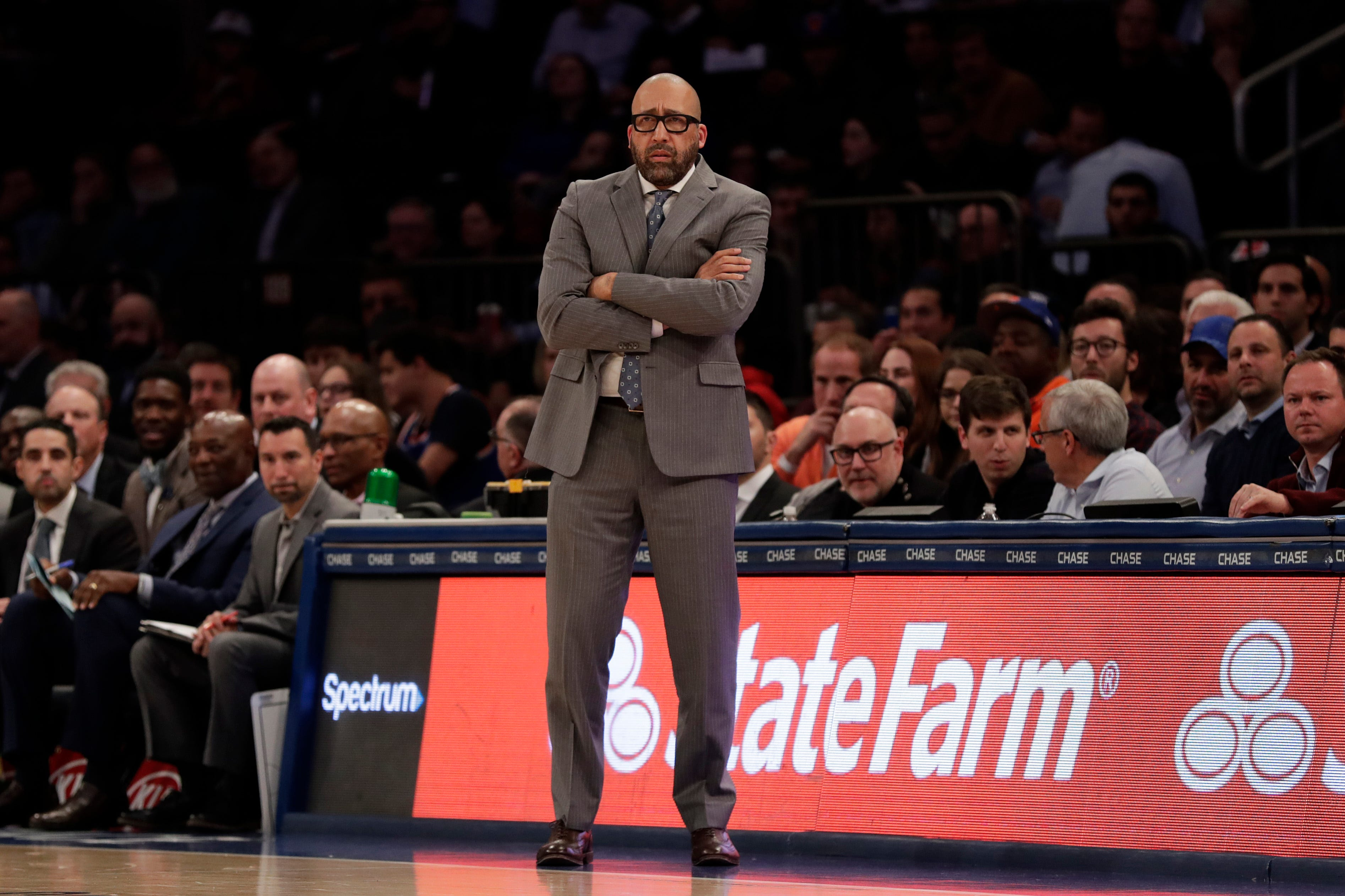 Two days later, Knicks address firing David Fizdale as coach