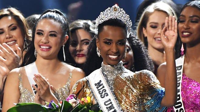 Miss Universe 2019 winner is South Africa, Zozibini Tunzi Aa74a33d-0815-48b0-9f96-3886e743343a-GTY_1192785093