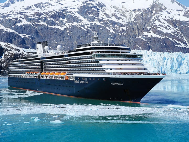 Best Itineraries (Ocean): Holland America Line