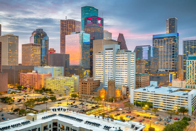 Houston is among cities returning to offices more rapidly than others.