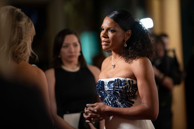Audra McDonald arrives for the Kennedy Center Honors.