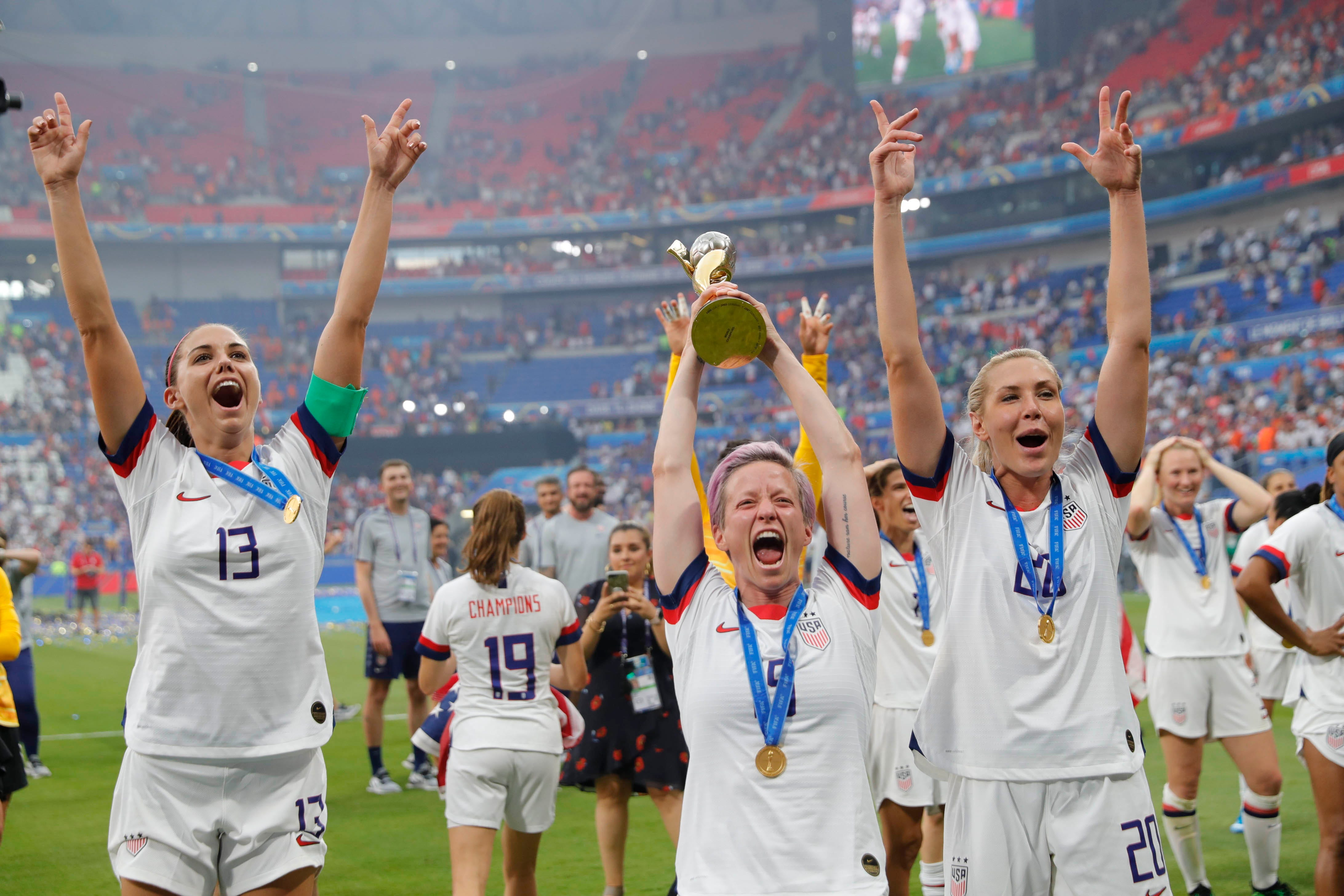 Best of the decade: US women end 2010s where they started it, as world's best