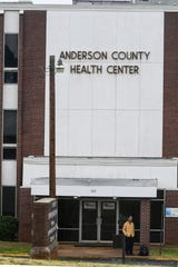 Anderson County Health Department building on McGee Road in Anderson Tuesday.