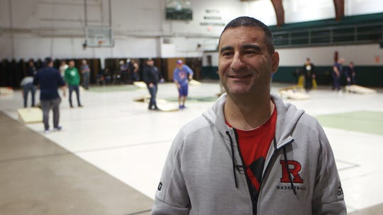 Participants from over an hour away travel to Keyport to play in a cornhole league run by WFAN's Jerry Recco.