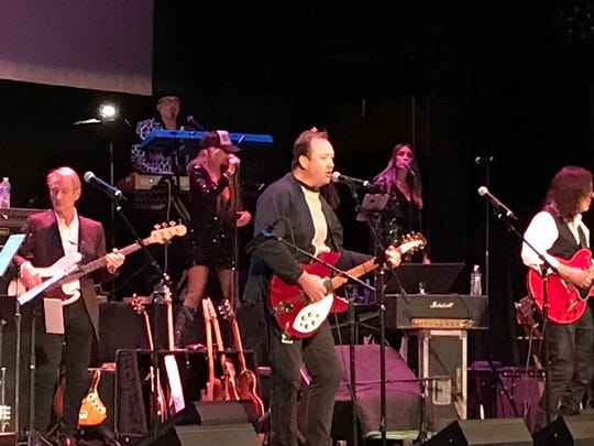 Jim Babjak of the Smithereens sings at the A Very Asbury Holiday Show  Dec. 8, 2019 at the Paramount Theatre in Asbury Park.