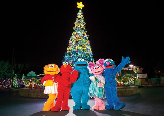 Rosita, Elmo, Cookie Monster, Abby Cadabby and Grover await you at Sesame Place.