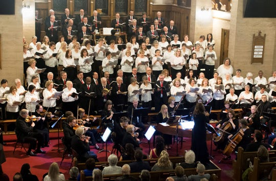 """The Binghamton Downtown Singers and Orchestra will perform Handel's """"Messiah"""" Saturday evening at Sarah Jane Johnson Memorial United Methodist Church in Johnson City."""
