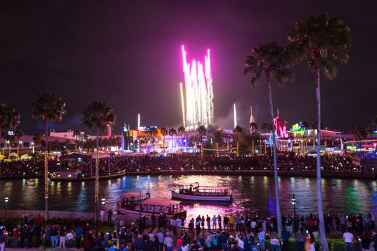 Enjoy the chic spectacle of EVE at Universal CityWalk, a New Year's Eve celebration for guests 21 and up, featuring gourmet cuisine, access to at least five CityWalk clubs, fireworks and more.