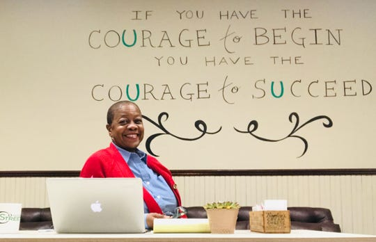 Rosemari Hicks, a human resources consultant who owns a coworking space in downtown Camden, said start-ups and micro businesses in Camden need more support from the state and the city.