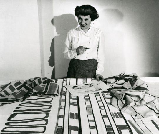 Ruth Adler Schnee influenced the look of midcentury modern design.