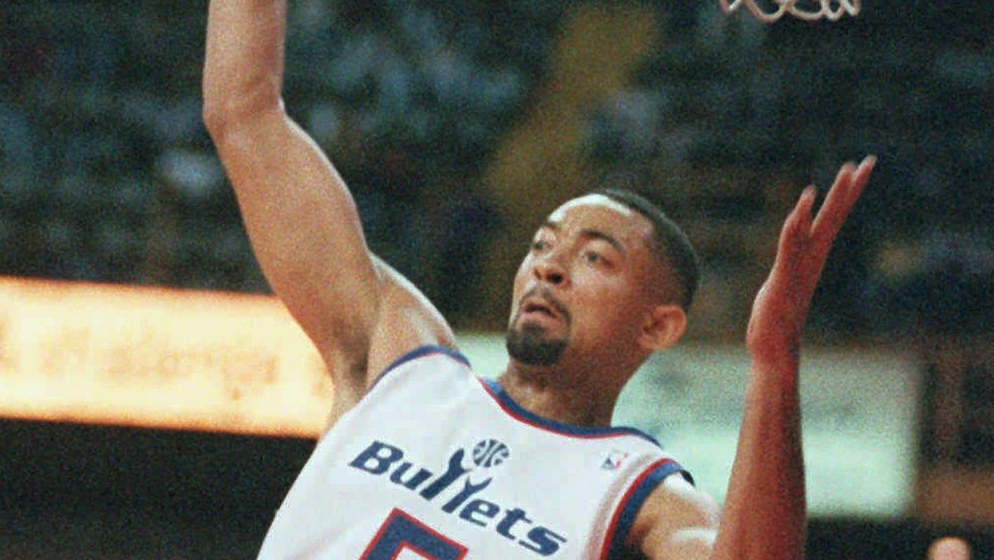 Detroit Pistons' first Mexico trip featured Michigan's Juwan Howard, Rasheed Wallace