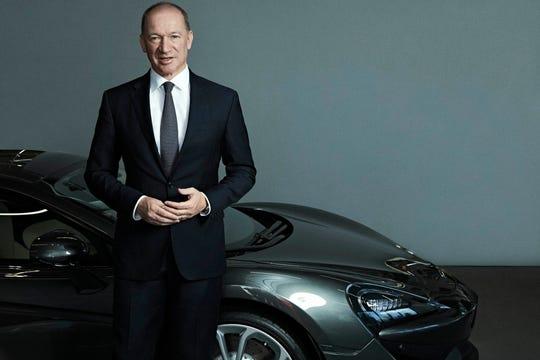 McLaren Automotive CEO Mike Flewitt