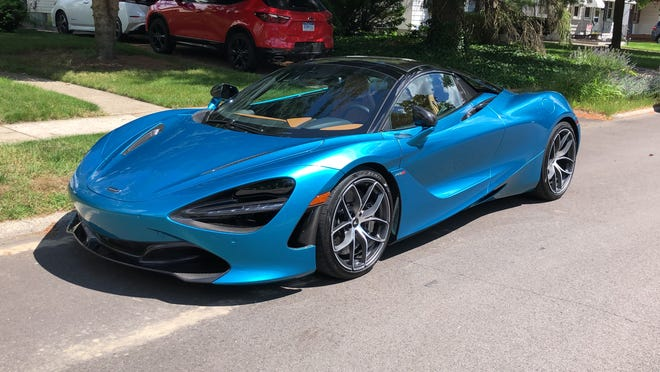 Prices for the McLaren 720S Spider start at $315,000. This one cost about $411,000.