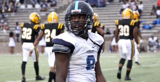 Houston (Texas) Sterling running back Frank Brown will take an official visit to Michigan State this weekend.