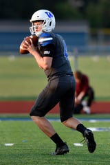 Walled Lake Western quarterback Zach Trainor completed 74.5 percent of his passes for 3,845 yards and 44 TDs with just four interceptions this season.