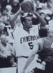 Marcus Wilson was the Missouri Valley Conference Player of the Year in 1999, when he led the University of Evansville men's basketball team to its last NCAA Tournament appearance.