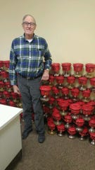 John S. Pelletier coordinated as many as 90 kettles throughout Fond du Lac County during his service.