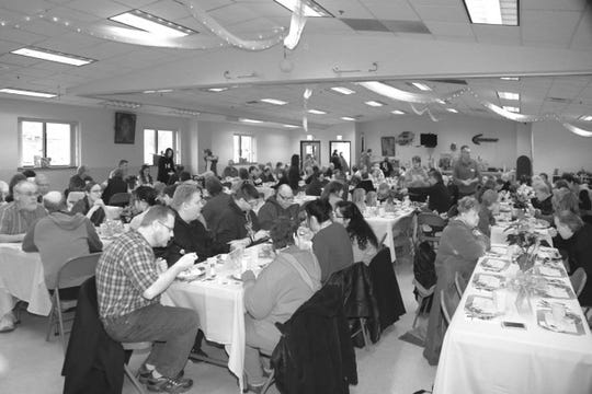 In 2018, more than 500 attended the Fond du Lac Community Christmas Dinner.