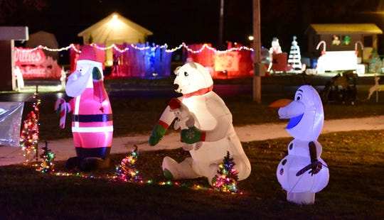 The Drive-Thru Winter Wonderland at the Sandusky County Fairgrounds will be open 6 to 8 p.m. Thursday and Dec. 15, 19 and 22.
